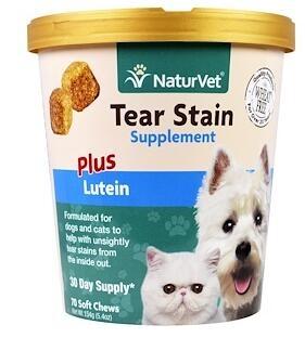 8。NaturVet, 狗和猫的泪污渍配方,加叶黄素,软咀嚼锭,5.4盎司(154克).jpg.jpg