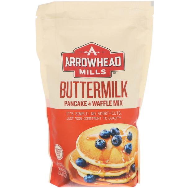 Arrowhead Mills, 天然煎饼和华夫饼混合粉,酪乳味.jpg