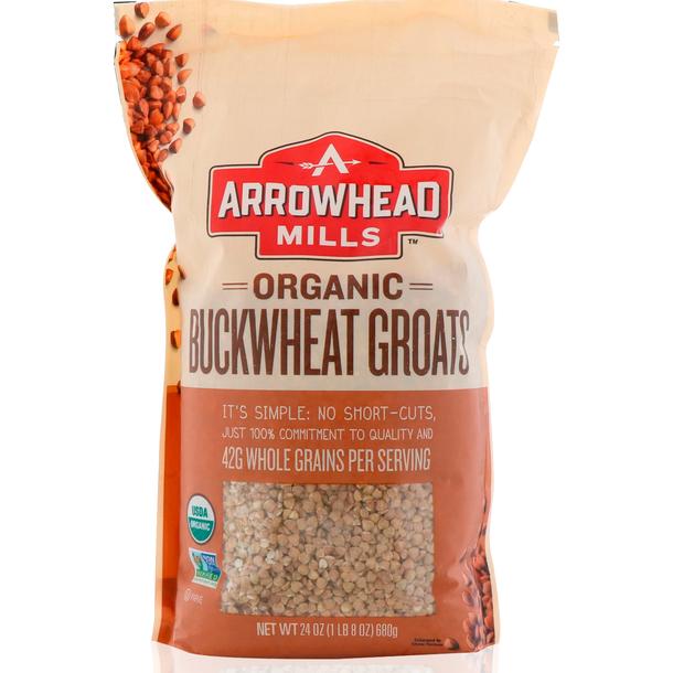 Arrowhead Mills, Toasted, 烘烤的有机荞麦仁.jpg