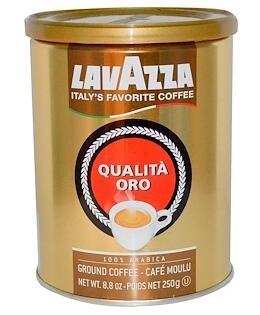 2。LavAzza Premium Coffees, Qualità Oro,研磨咖啡,8.8盎司(250克).jpg