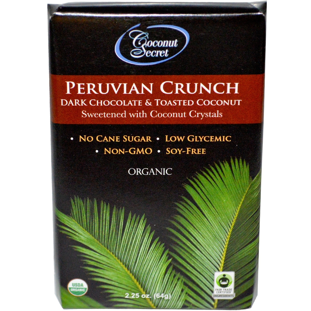 Coconut Secret, 烤椰子碎黑巧克力,2.25盎司.jpg