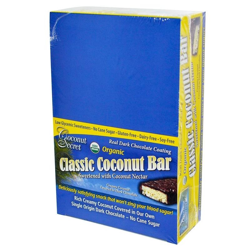 Coconut Secret, 有机,天然椰子营养条,12个营养条.jpg