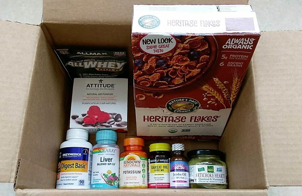 iHerb晒单:ATTITUDE空气净化盒+洋蓟心+大蒜油+护肝胶囊+消化酶+荷荷巴油等