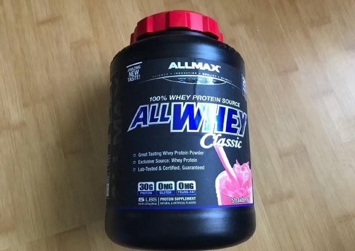 ALLMAX经典乳清蛋白粉,全蛋白,全乳清,一流口感
