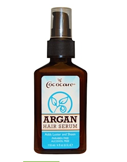 7.Cococare, Argan Hair Serum , 4 fl oz (118 ml).png