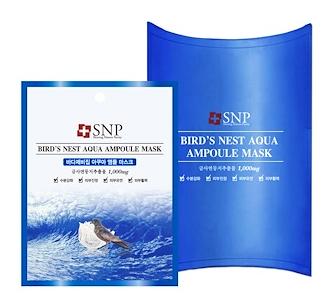 1.SNP, Bird's Nest Aqua Ampoule Mask,.png
