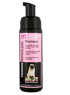 1。Miracle Care, Miracle Coat, Foaming Waterless Shampoo, For Dogs, Garden Fresh.jpg