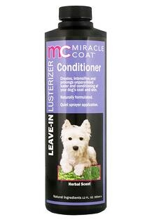 2。Miracle Care, Miracle Coat, Leave-In Lusterizer Conditioner, For Dogs, Herbal.jpg