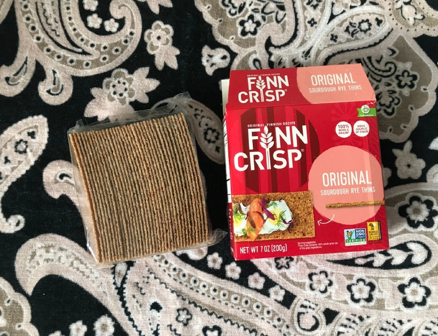 Finn Crisp, 酵母黑麦薄脆饼~100% 全谷物黑麦饼干脆片