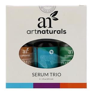 4。Artnaturals, Serum Trio Set, Anti-Aging, 3 Serums, 1 fl oz (29.5 ml) Each.png