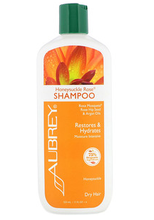 4。Aubrey Organics, 金银花玫瑰洗发水,强烈保湿,干性,11 液盎司(325毫升).png.png