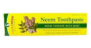 6。Organix South, TheraNeem Naturals, Neem Therapé with Mint, Neem Toothpaste, .jpg