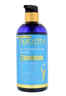 6.Pura D'or, 头发稀疏缓解洗发水,16液量盎司(473毫升).png