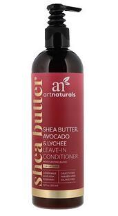 7.Artnaturals, 乳木果脂、鳄梨与荔枝免洗护发素,保湿组合,适合干性头发,12液体盎.jpg