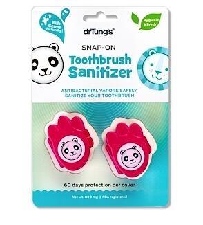 6.Dr. Tung's, Kid's Snap-On Toothbrush Sanitizer, 2 Toothbrush Sanitizers.jpg