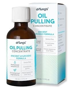 8.Dr. Tung's, Oil Pulling Concentrate, Ancient Ayurvedic Formula, 50 ml (1..jpg