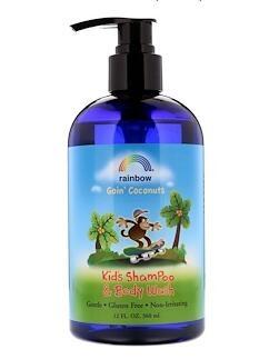 8.Rainbow Research, 儿童洗发水和沐浴露,椰子味,12 液体盎司(360 毫升).jpg.jpg