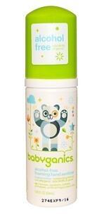3..BabyGanics, The Germinator,婴儿手部泡沫消毒液 (无酒精无香精),1.69液量盎司(.jpg