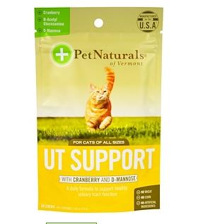 8.Pet Naturals of Vermont, 保护泌尿道咀嚼片(含有蔓越莓和D-甘露糖),适合猫,60.png