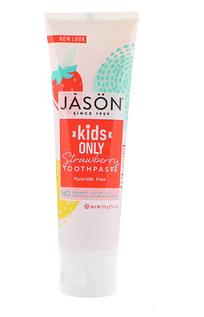 3.Jason Natural, 儿童专用天然牙膏,草莓味,4.2盎司(119克).png