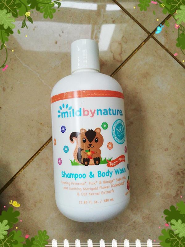 Mild By Nature, 适用于婴儿,无泪洗发露和沐浴液.jpg