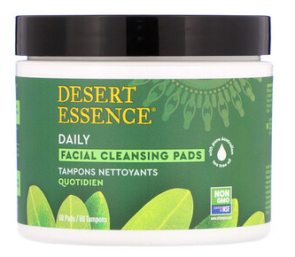 3.Desert Essence, 天然茶树油面部清洁垫,50片.png