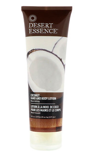 7.Desert Essence, 椰子精华手部和身体乳液,8液体盎司(237毫升).png