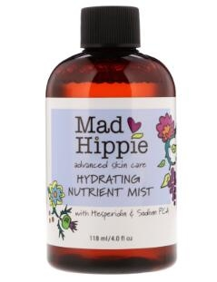6.Mad Hippie Skin Care Products, Hydrating Nutrient Mist, 4 fl oz (118 ml).jpg