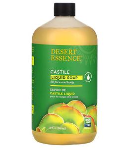 5.Desert Essence, 橄榄皂液,32 液量盎司(946 毫升).png