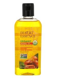 10.Desert Essence, 有机荷荷巴油,4 液量盎司(118 毫升).png