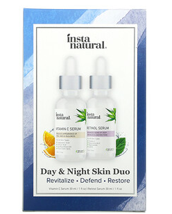 1.InstaNatural, Day & Night Skin Duo, 2 Bottles, 1 oz (30 ml) Each.png