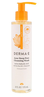 4.Derma E, Acne Deep Pore Cleansing Wash, 6 fl oz (175 ml).png
