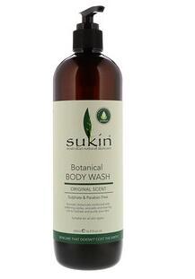 8.Sukin, 超级绿色,植物沐浴露,原味,16.91液盎司(500毫升).jpg