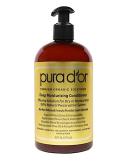 5.Pura D'or, 深层滋润润发乳,16液体盎司(473毫升).png