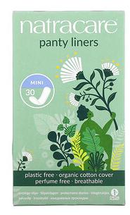 1.Natracare, 卫生护垫,有机棉套,迷你,30 片.png
