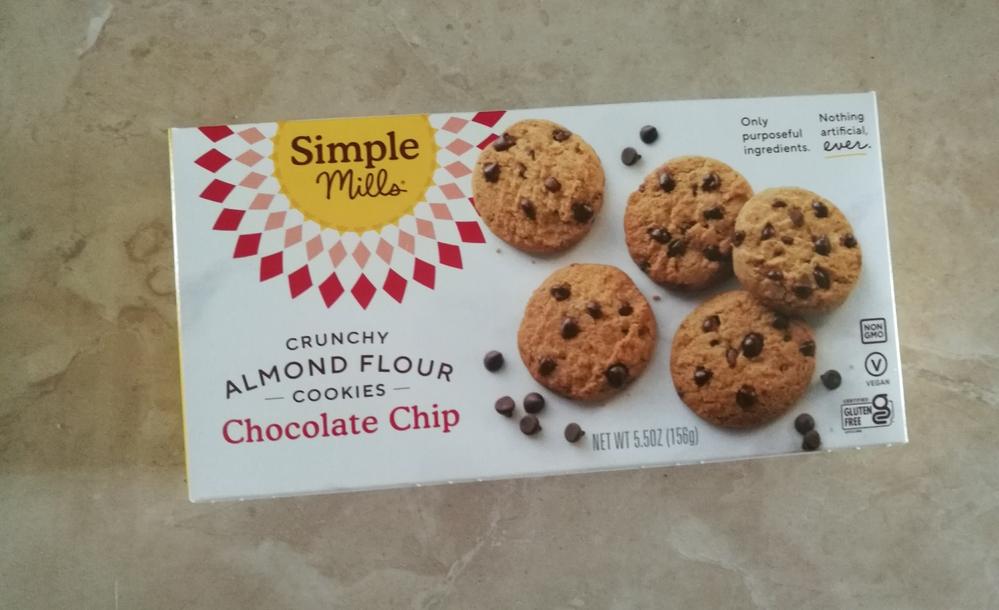 Simple Mills, 松脆杏仁曲奇饼,巧克力块 正面包装.jpg