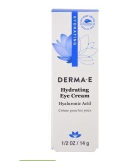 1.Derma E, 保湿眼霜,含透明质酸和碧萝芷,12 盎司(14 克).jpg