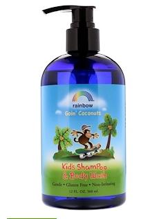6.Rainbow Research, 儿童洗发水和沐浴露,椰子味,12 液体盎司(360 毫升).png.png