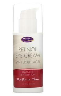 4.Life-flo, 视黄醇眼霜,含阿魏酸,1.7 液体盎司(50 毫升).png